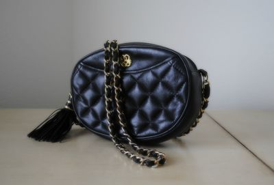 Vintage Blk Mini Shoulder Bag