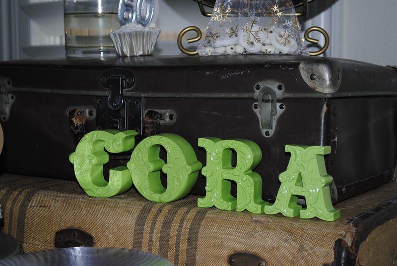Cora Lime Green